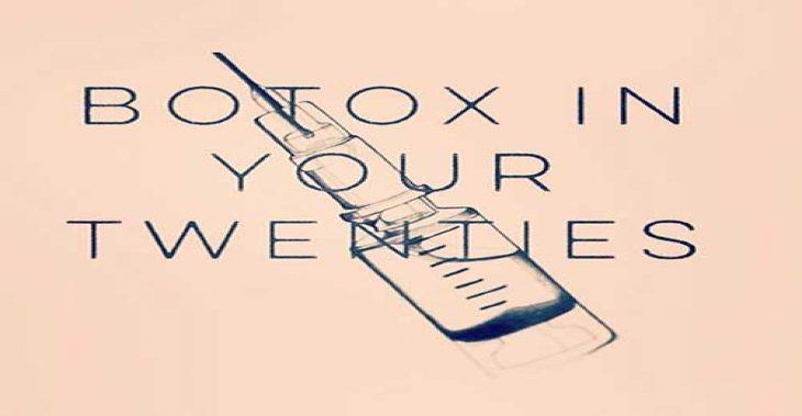 Botox in your Twenties